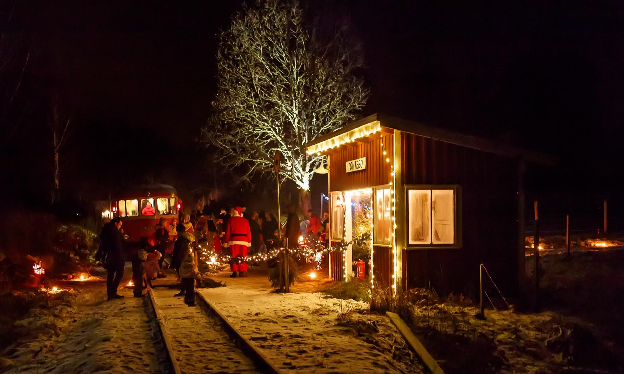 Tomtetåg. Foto: BG Landin