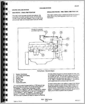 Allis Chalmers 7060 Tractor Service Manual