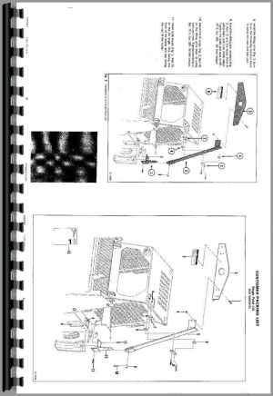 Bobcat 843B Skid Steer Loader Service Manual