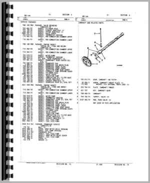 International Harvester 2500B Industrial Tractor Engine