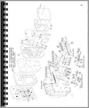 Farmall 706 Tractor M&W Tenderfoot Shifter Parts Manual