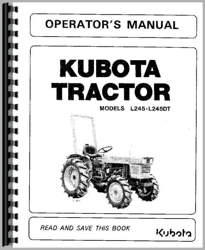 kubota g1700 manual ebook