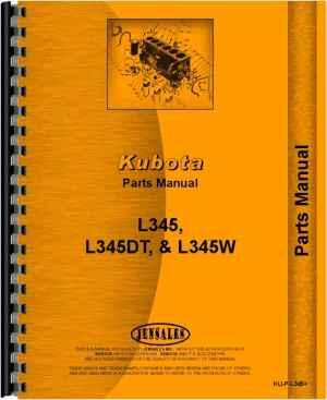 Kubota L345DT Tractor Parts Manual
