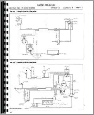 Massey Harris All Continental G176, GB176, G206 Service Manual