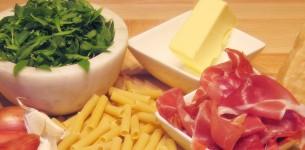 Bladder CAmpion and Parma Ham