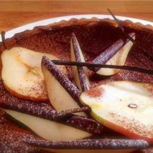 Chocolate and pears tart - Crostata alle pere e cioccolata