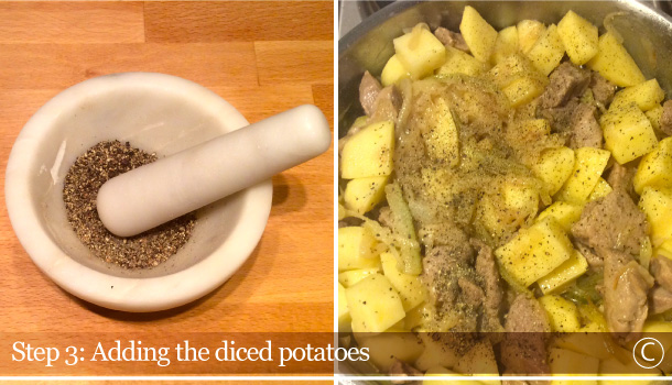 """Veal Spezzatino with Potatoes"" recipe"