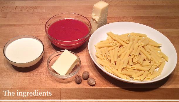 """""""Penne in Cardinal Sauce"""" recipe - """"Penne alla Cardinale"""""""