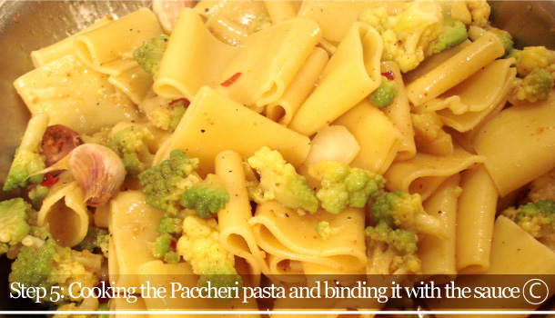 """Pasta with Roman Cauliflower and Anchovies"" recipe"