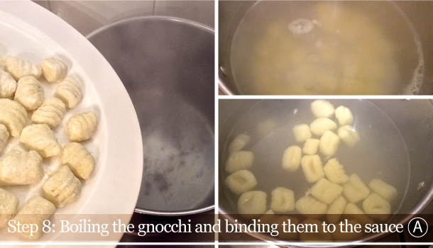 """""""Gnocchi in Gold and Butter sauce"""" recipe"""