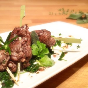 """Tordi Matti"": ""Loopy Birds"" Skewers recipe"