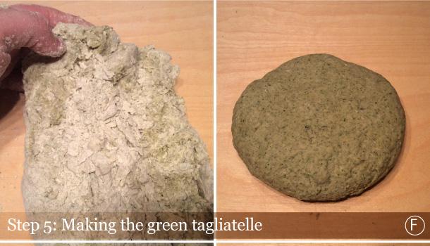 """""""Bolognese Ragù with Green Tagliatelle"""" recipe"""