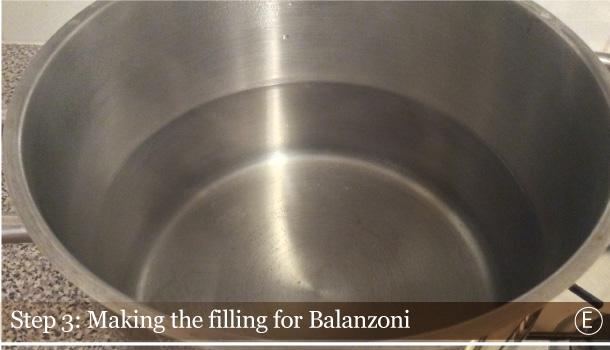 """Balanzoni: green ravioli with butter and sage"" recipe - ""Balanzoni al Burro e Salvia"""