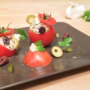 """""""Tuna stuffed Tomatoes"""" recipe - Pomodori ripieni al tonno"""