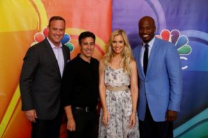 American Ninja Warrior Cast Summer Press Day