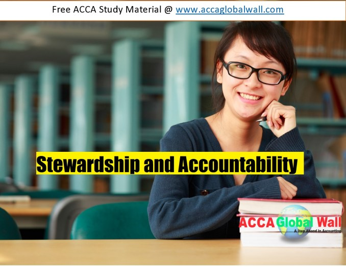 Stewardship and Accountability accaglobalwall.com