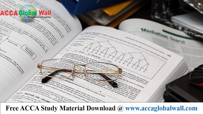 ACCA F5 PM Becker Revision Notes 2017
