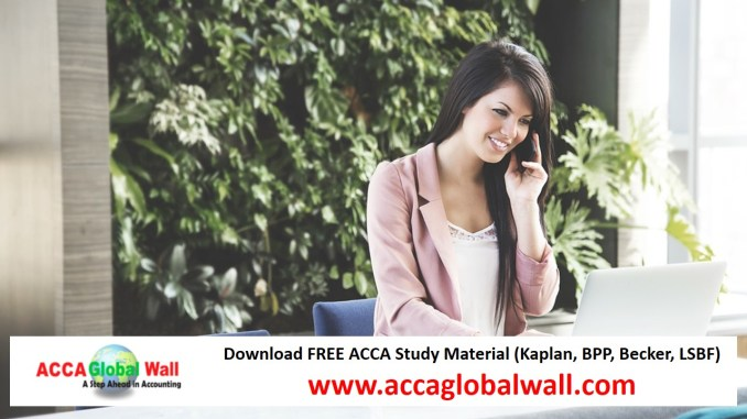 Latest ACCA F8 Becker Study Material 2017