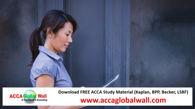 Latest ACCA P2 Becker Study Material 2017