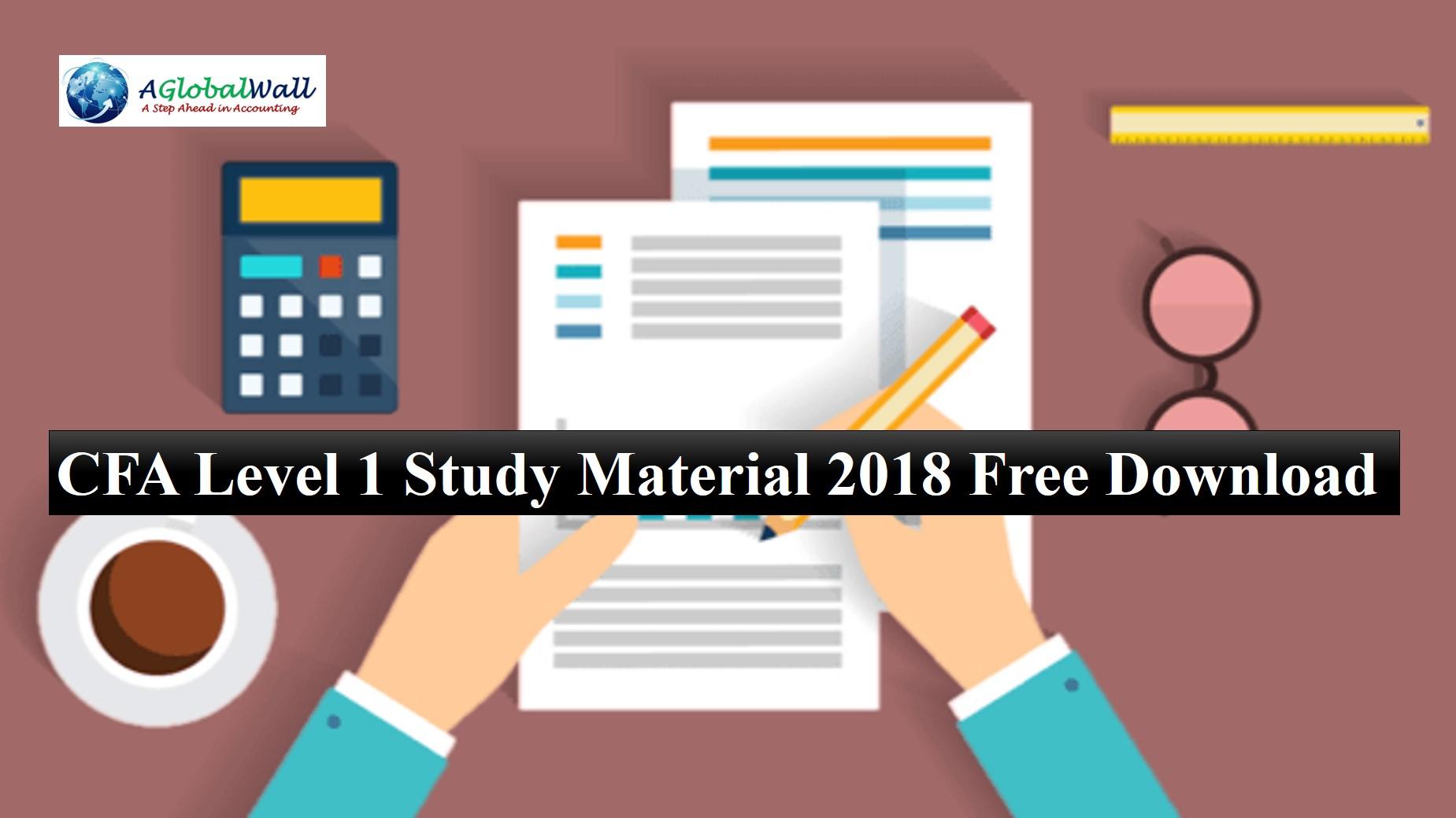 cfa level 1 material free download pdf