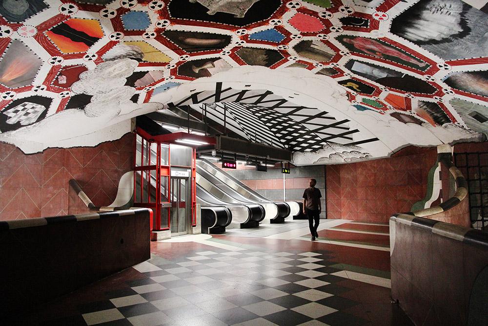 Stockholm Subway Kungsträdgårdsgatan