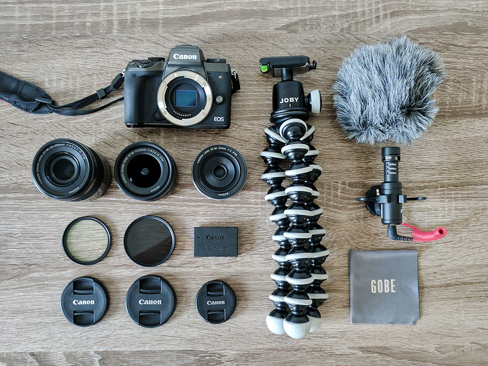 My complete mirrorless camera setup for travel