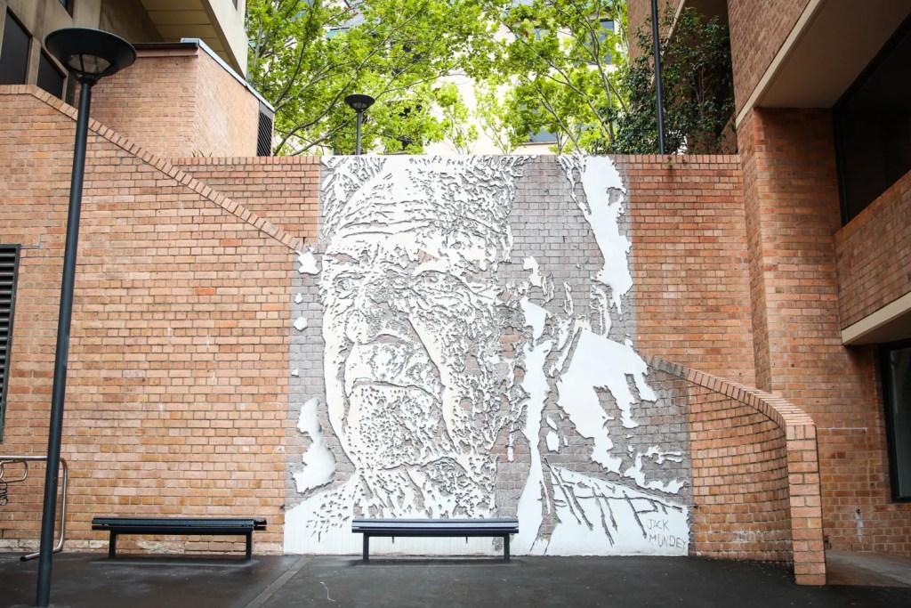 Public art found in The Rocks, Sydney