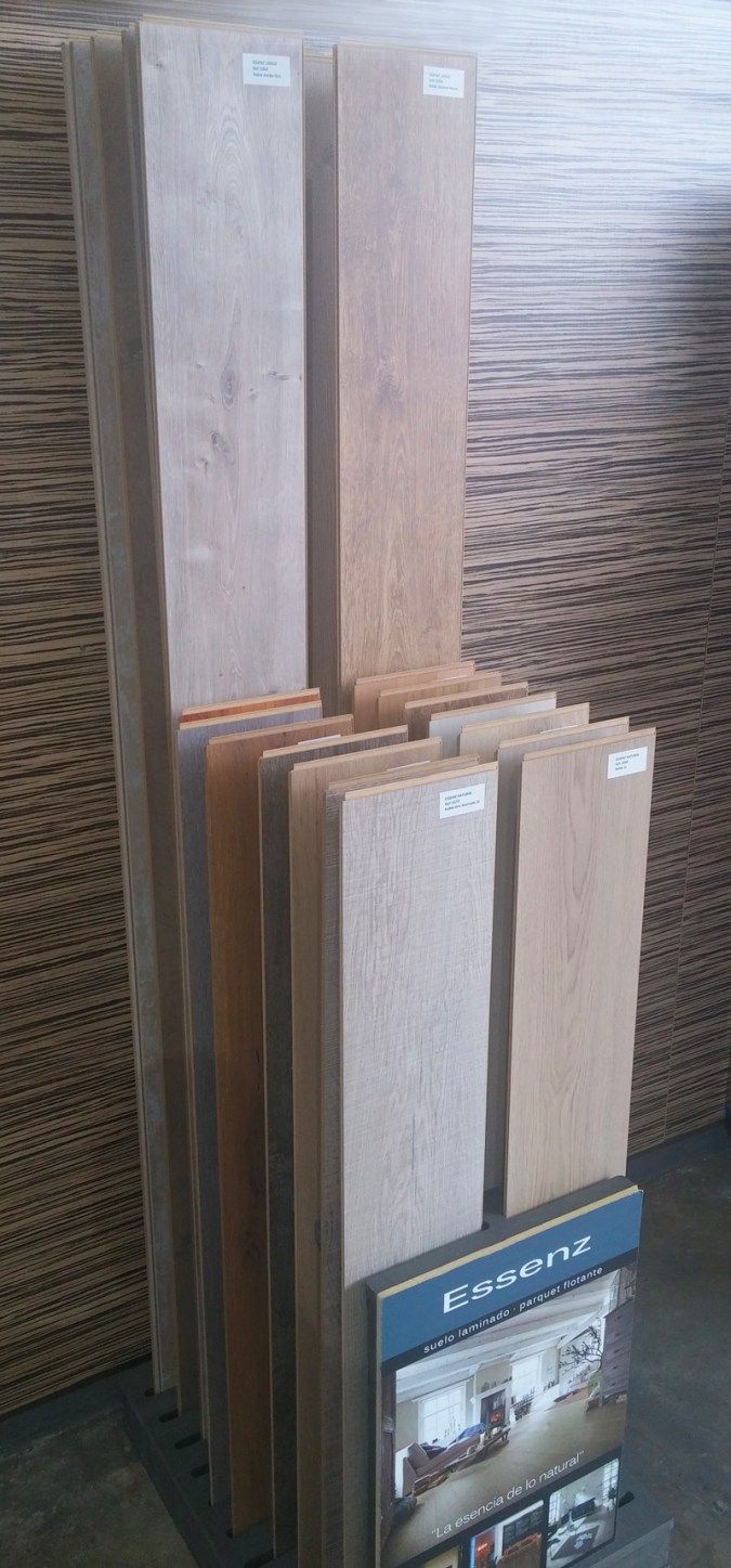 Expositor parquet AC4 - AC5 Agloval