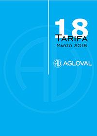 portada tarifa 2018 AGLOVAL
