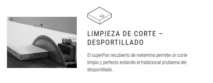 superPan limpieza corte