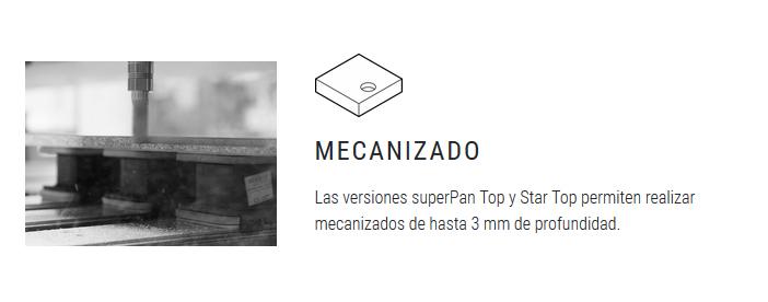 superPan mecanizado