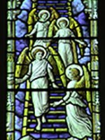 stained-glass-angels web