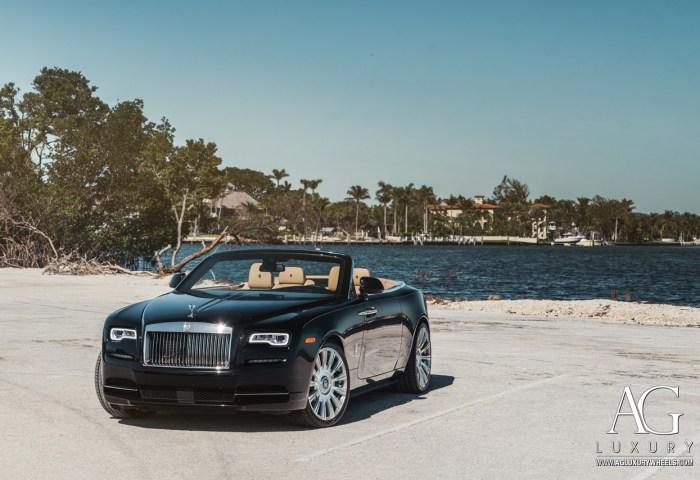 Ag Luxury Wheels Rolls Royce Dawn Monoblock Forged Wheels