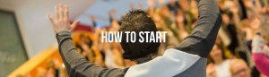 how to start page