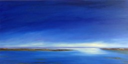 Solitude 24x48 oil