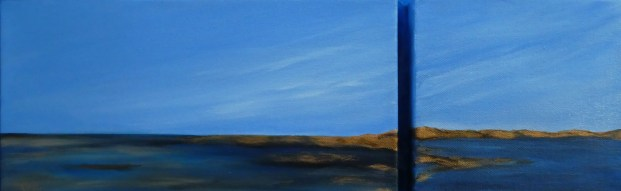 Dichotomy 6 x 18 oil Diptych
