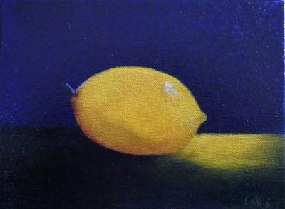 Lemon 6 x 8 oil