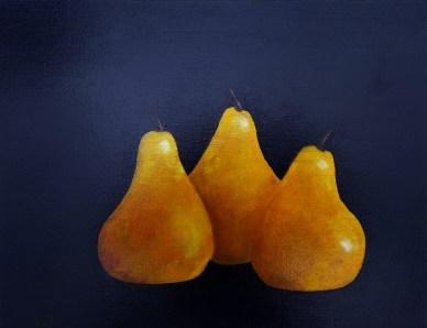 Pears 11 x 14 oil