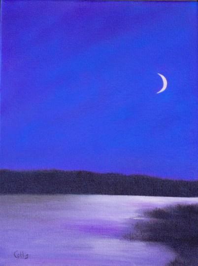 Twilight 12 x 9 oil
