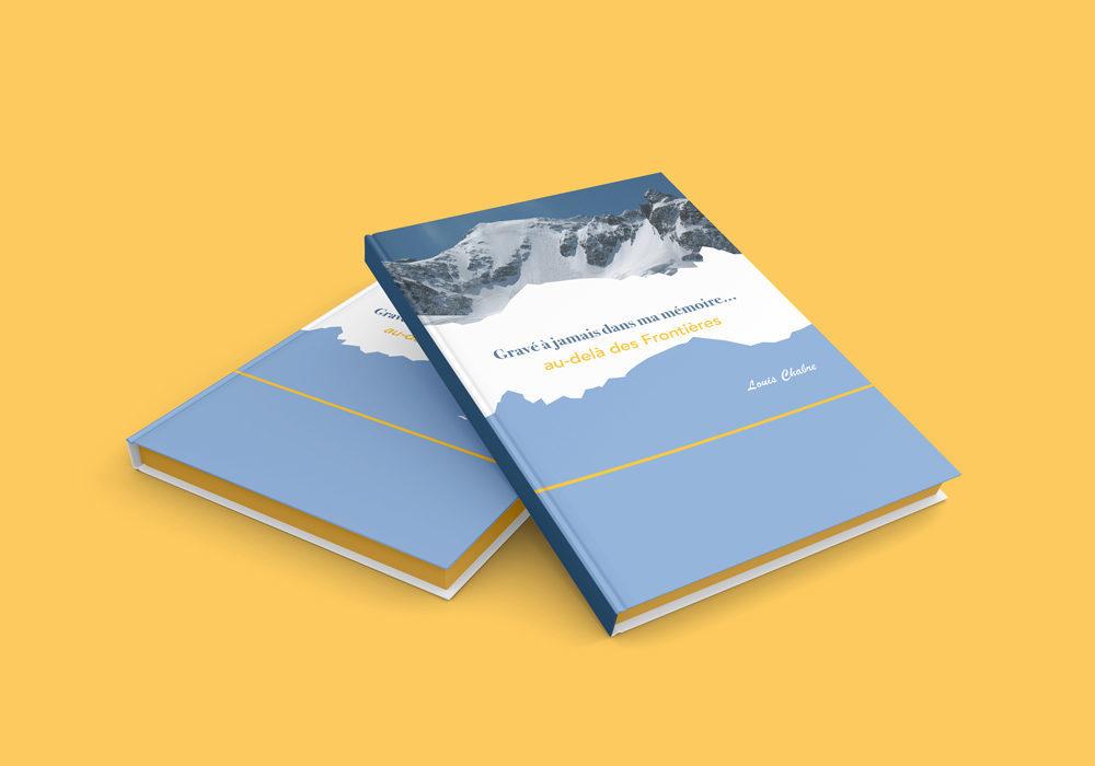 Mémoire réalisé pour un particulier -format A4 - en couleur - travaux de graphisme, de mise en page et de retouches photos