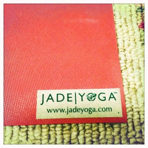 1 Jade Saffron Yoga Mat Emp Industrial Eco Jade Rubber