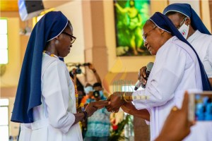 SSpS- Ghana Province  profession of vows