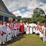 330 candidates receive sacrament of confirmation in Honiara