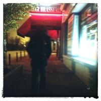 L'homme que j'ai suivi dans la rue.