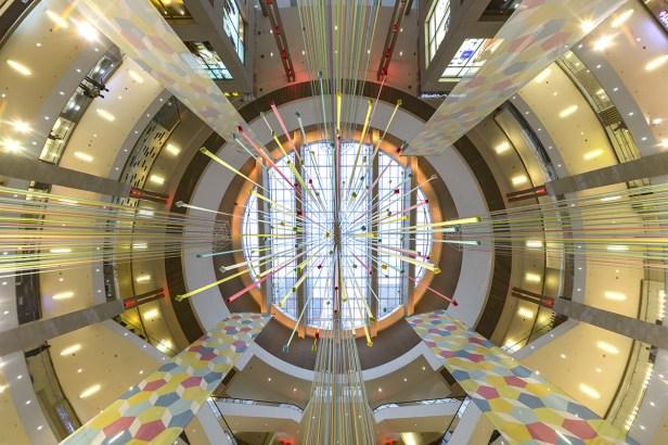 Pavilion Kuala Lumpur_shopping center_centre court cultural dance