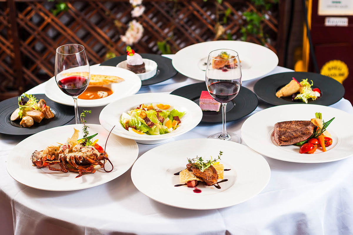Best restaurants in Paris-Paris-full course meal