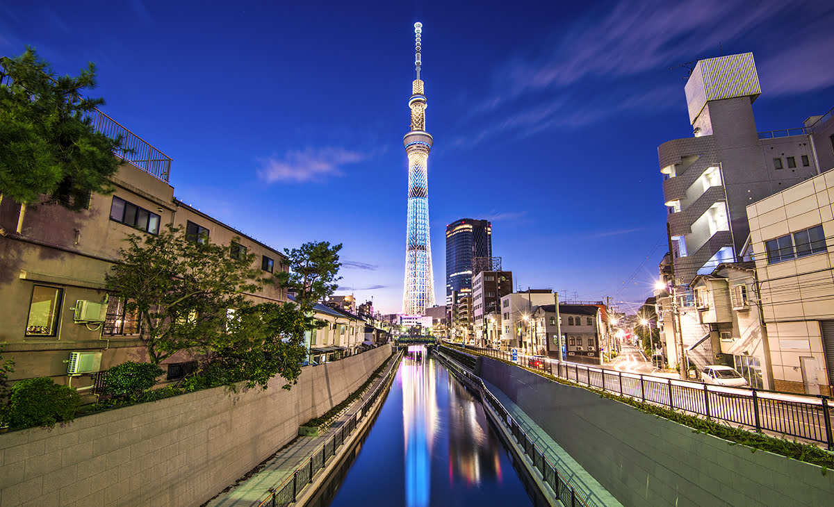 Cheap hotels in Tokyo-Japan-Mixed Budget Hotels-Tokyo Skytree Town