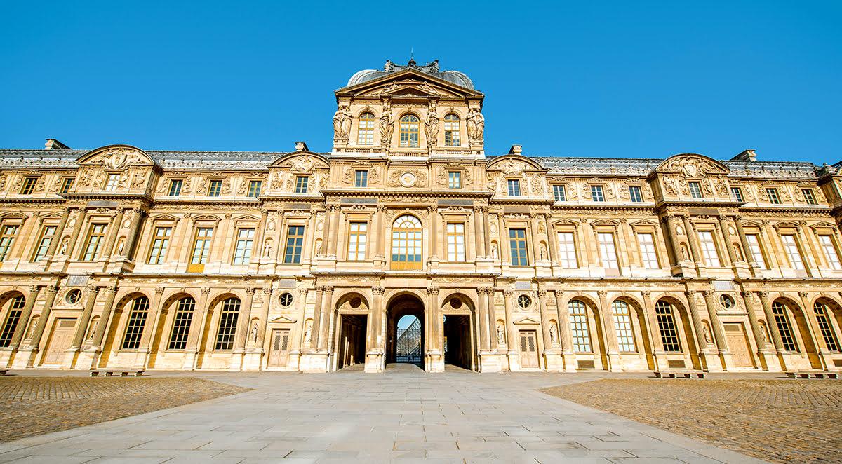 Paris attractions-travel France-Louvre Museum