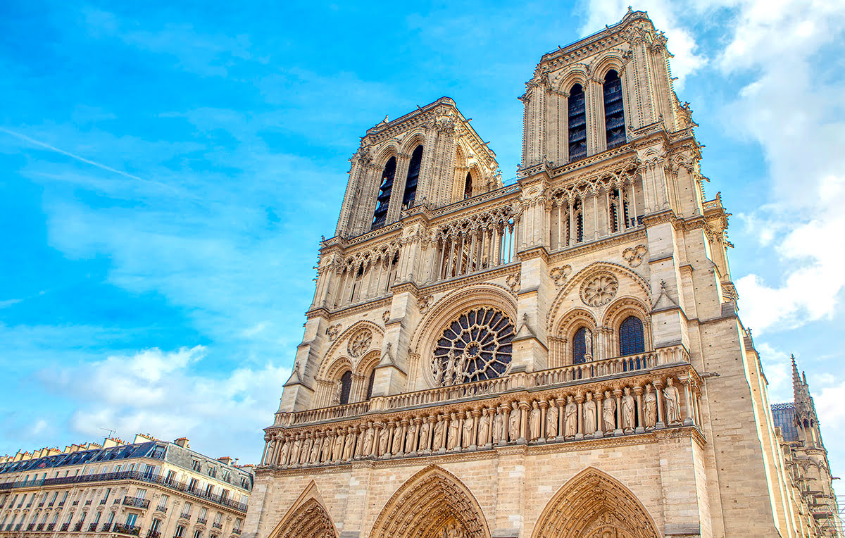 Paris itinerary-Paris 3 day itinerary-France-Notre Dame Cathedral
