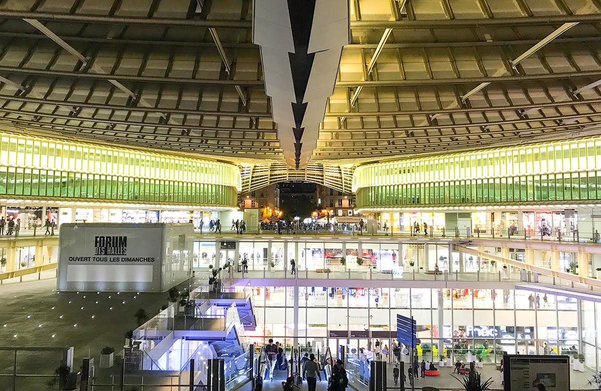 Paris shopping-France-Forum des Halles